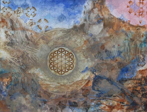 Génesis. Obra de David Paquet.