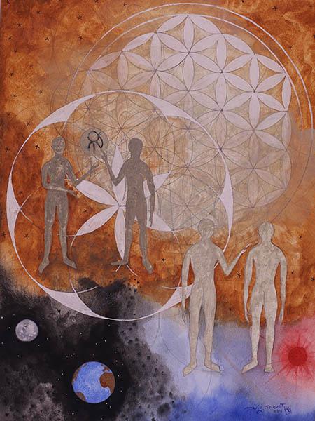 Pensamientos, 3. Obra de David Paquet.